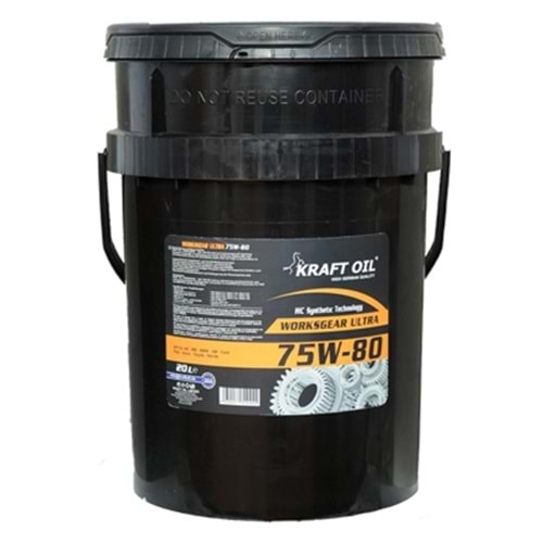 KRAFT OİL 75W-80 WORKSGEAR ULTRA 20 LT