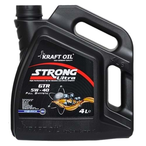 KRAFT OIL 5W-40 Strong GTR Ultra - 4LT